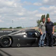 Ligier JS P3 LMP3 Eurointernational with Giorgio Mondini and Antonio Ferrari